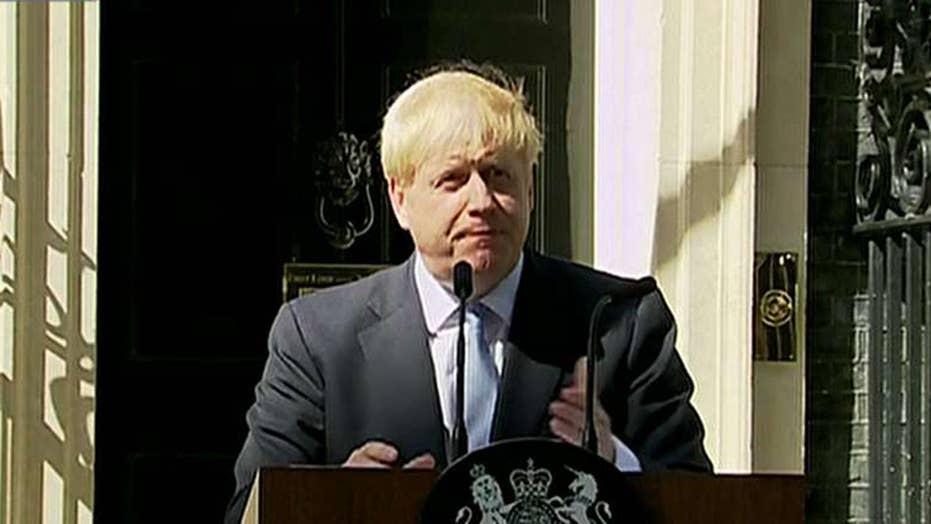 Boris Johnson's first speech as prime minister