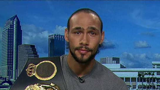 Boxer Keith Thurman: The stock market is a lot of fun for me