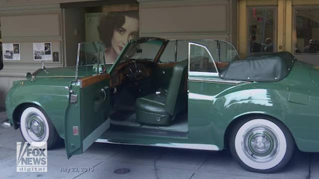 Elizabeth Taylor's iconic Rolls Royce up for sale