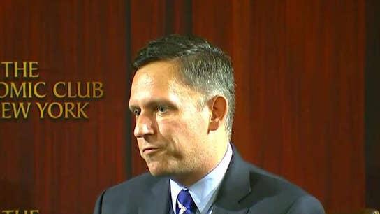 Peter Thiel calls for FBI, CIA probe of Google