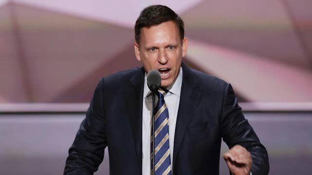 Peter Thiel says FBI, CIA should investigate Google: Report