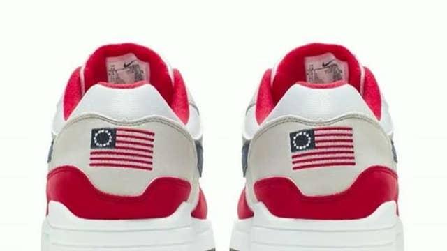 Nike pulls Betsy Ross Flag sneaker at Colin Kaepernick's urging