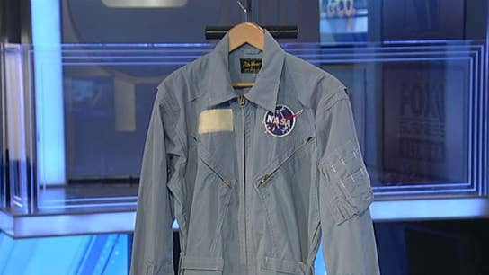 Neil Armstrong's flight suit to go up for auction