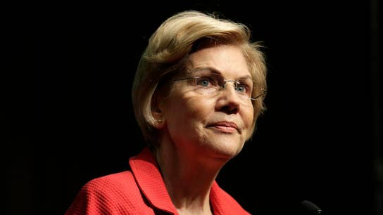 Elizabeth Warren accuses Wall Street of looting economy