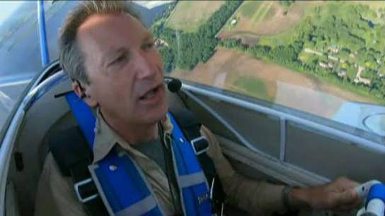 Jeff Flock takes flight at World's biggest air show