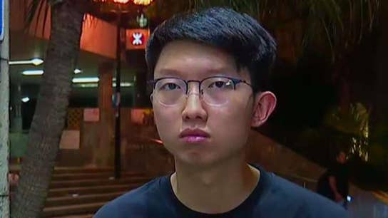 Spokesperson for Hong Kong protests speaks out