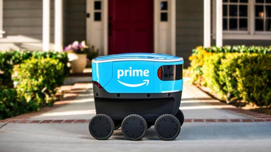 Amazon's delivery robots head to the Golden State