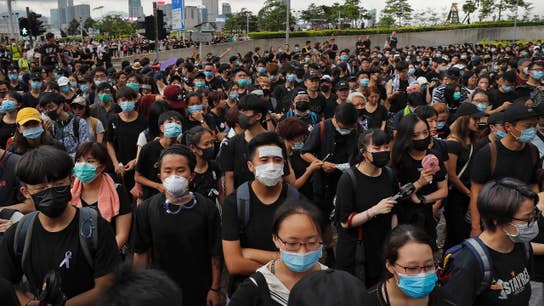 Col. David Hunt on Hong Kong: China's Xi doesn't care about anyone's opinion except his military
