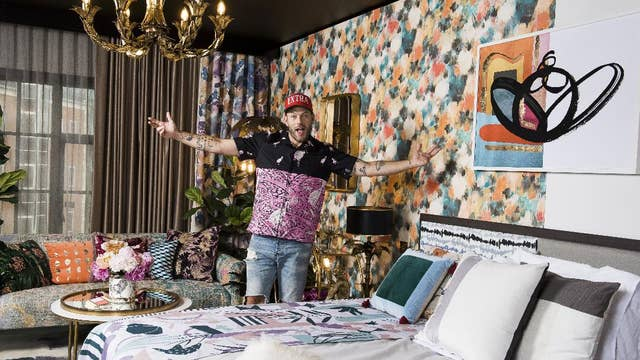 The Curtain's split-personality hotel room in London