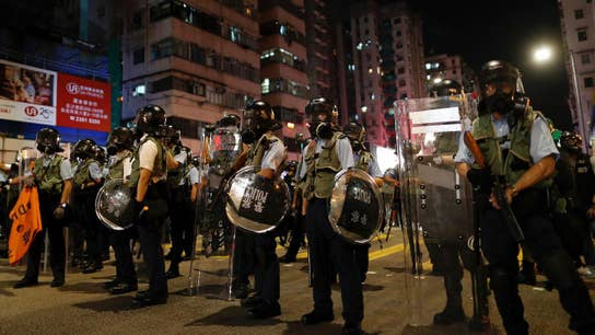 Hong Kong protesters hold massive 'Power to the People' rally