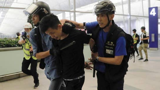 China concerned over the Hong Kong protests' impact on its reputation?