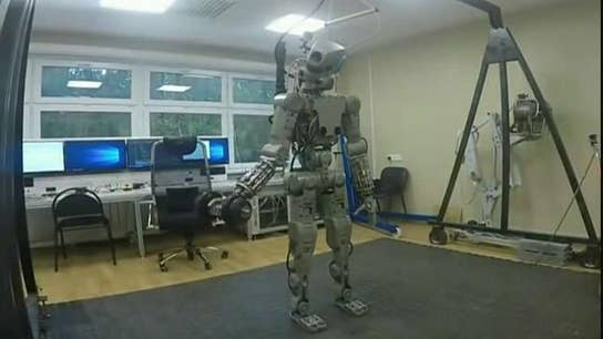 Fedor robot blasts into space