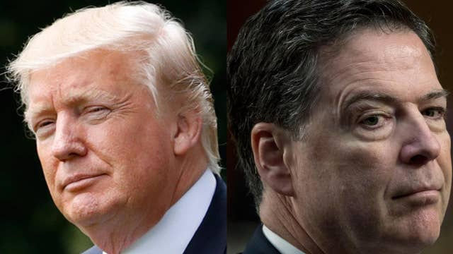 Why did Trump keep James Comey around for so long?