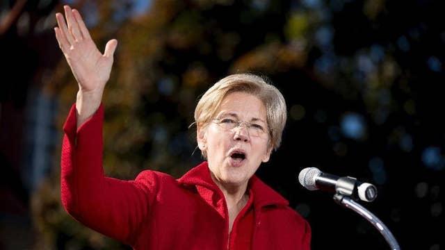 Support swells for Elizabeth Warren