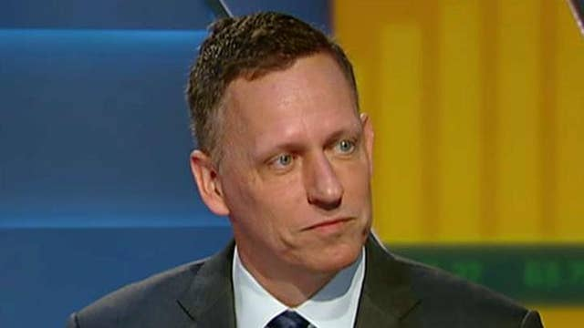 Peter Thiel talks Silicon Valley and politics