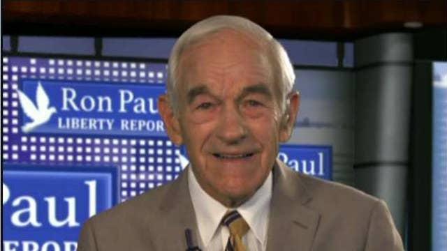 Ron Paul diagnoses economic woes