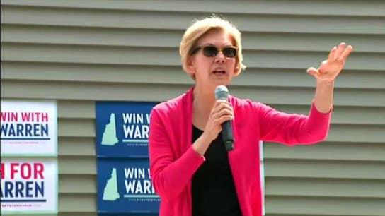 Elizabeth Warren polling well, can she beat Biden?