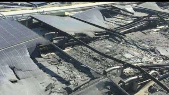 Is Tesla Solar going up in flames?
