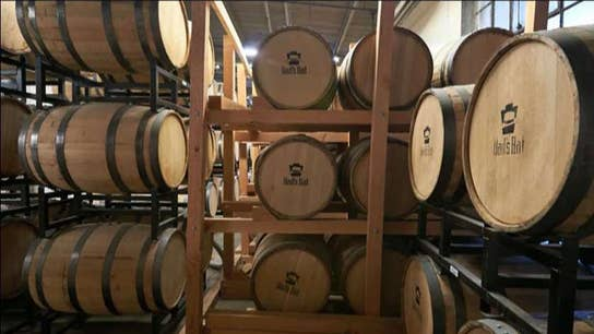 American whiskey distillers' sales taking a shot from tariffs
