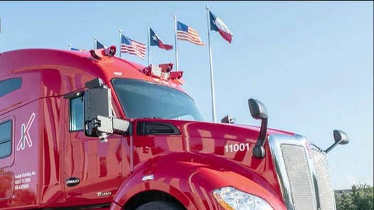 Kodiak Robotics begins self-driving truck deliveries