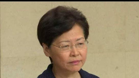 China chief executive says they will begin a dialogue with the people
