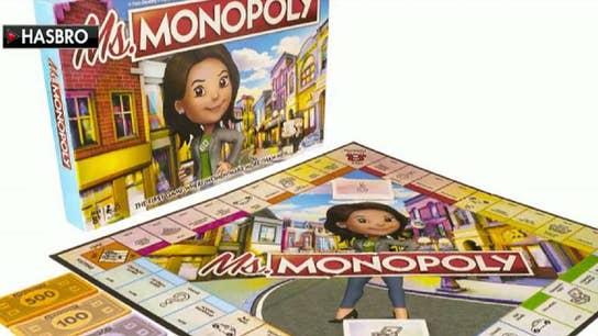 Hasbro brings gender pay gap debate to game night with 'Ms. Monopoly'