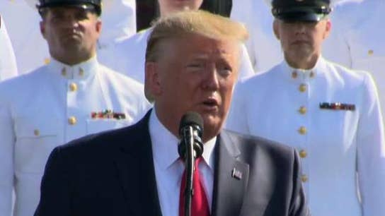 Trump: No enemy on Earth can match the overwhelming strength, skills and might of the American Armed Forces