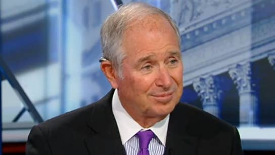Blackstone's Stephen Schwarzman on falling global rates