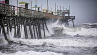 Hurricane Dorian lingers off North Carolina coast