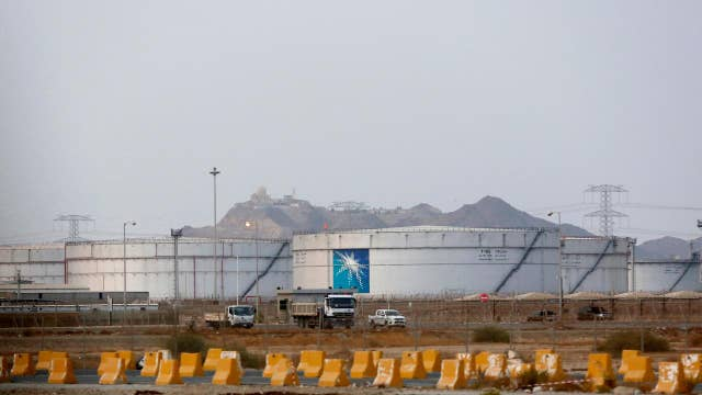 Oil prices soar after drone attack on Saudi facility