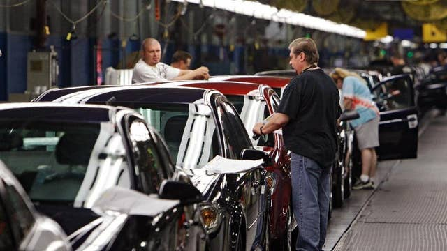 Why did the UAW target GM first in contract talks?