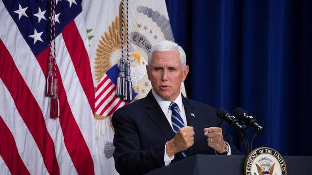 VP Pence: We are imposing new punishing sanctions on Iran