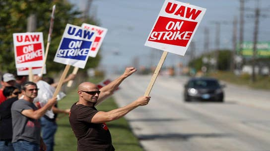 Day 2 on the GM picket lines