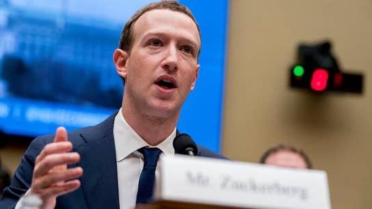 Mark Zuckerberg on Capitol Hill