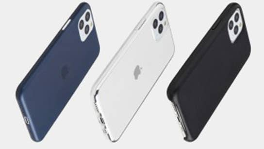 Apple CEO Tim Cook greets iPhone 11 customers