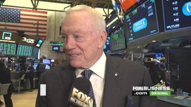 Jerry Jones talks Ezekiel Elliott, roots in oil and gas industry