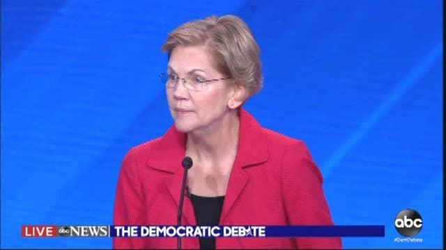 Sen. Warren dodges question about possible tax increase under her healthcare plan