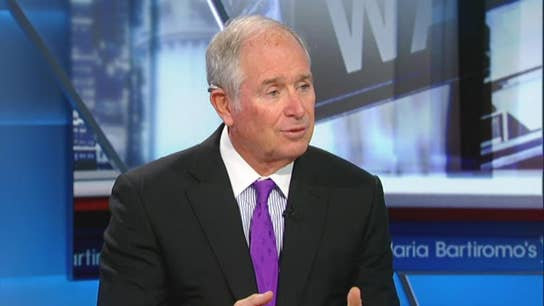 Stephen Schwarzman not concerned about recession fears