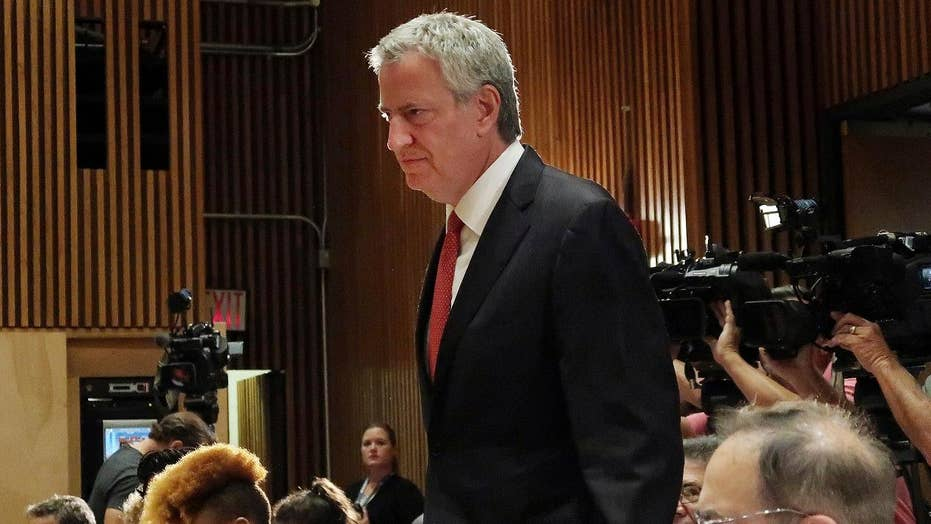 Can a 'robot tax' save us from automated job loss? Bill de Blasio thinks so
