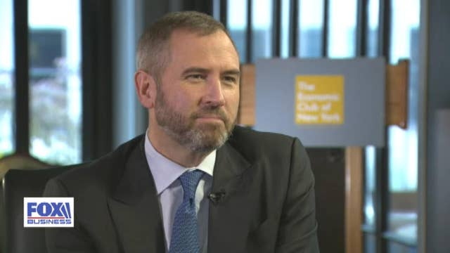 Ripple CEO explains why cryptocurrency XRP has lagged