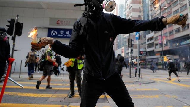 Hong Kong protest October 20, 2019