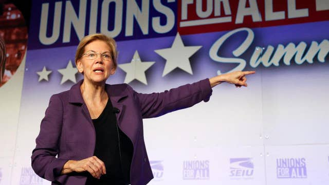 Warren tweets Facebook ad with false claims