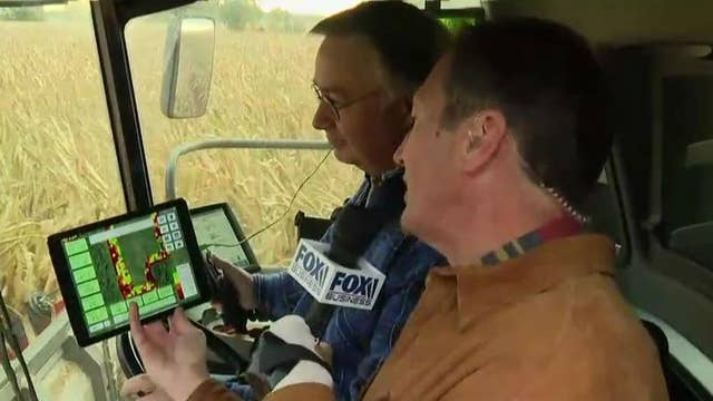 Farmers turn to AI to 'maximize production'