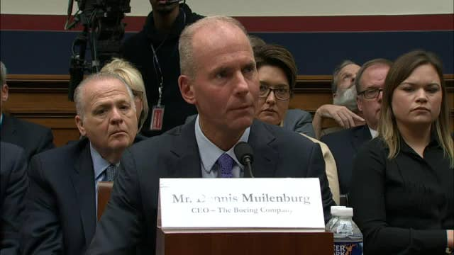 Are you working for free? Boeing CEO ripped over pay during 737 Max testimony