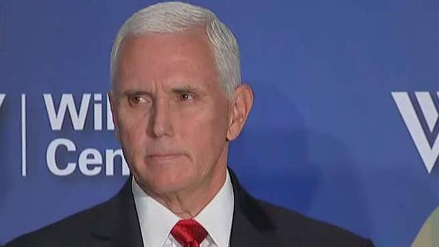 Pence: America's days of helping rebuild China 'are over'