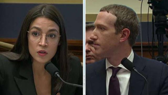 AOC grills Mark Zuckerberg in congressional hearing