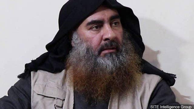 Pentagon declassifies footage of Baghdadi raid