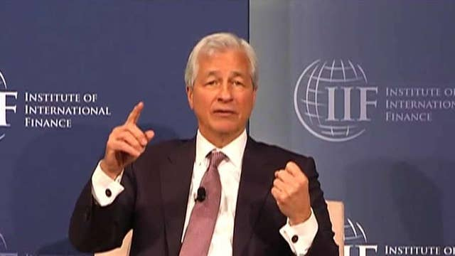 JPMorgan CEO: Governments controlling companies is socialism