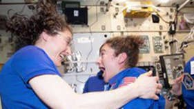 WATCH: These female astronauts just made history in space