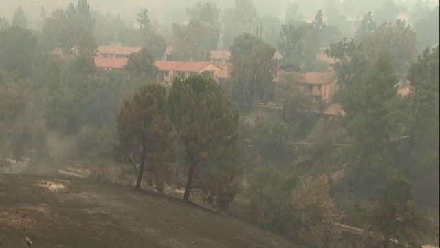 2 dead, 19 injured in California wildfire